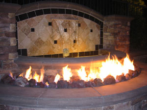 Standard And Custom Size Burners For Fireglass Fireplace